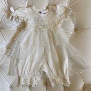 Beautiful Off White Christening Outfit